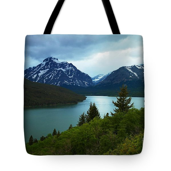 East Glacier Tote Bag by Jeff Swan