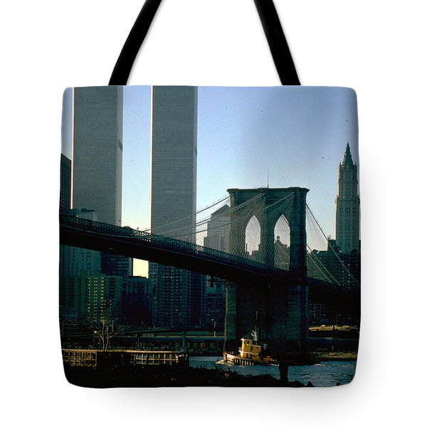 East River Tugboat Tote Bag