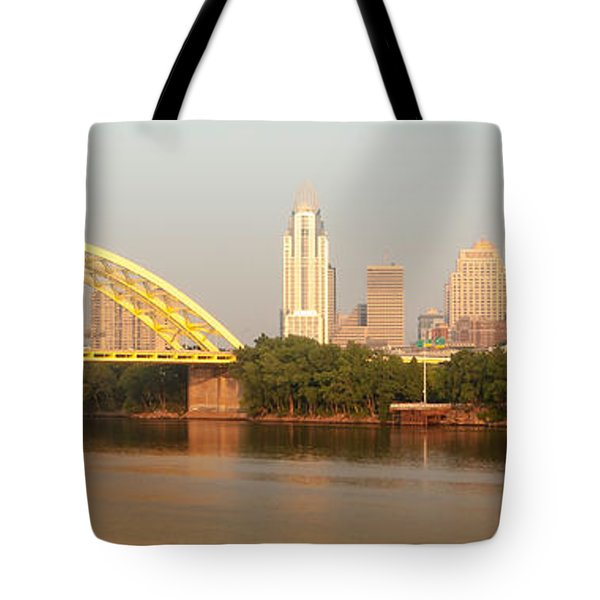East Side Pano Tote Bag by Keith Allen