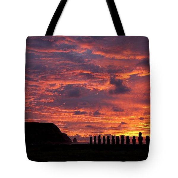 Easter Island Tote Bag by Easter Island