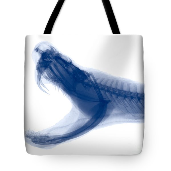Eastern Diamondback Rattlesnake, X-ray Tote Bag