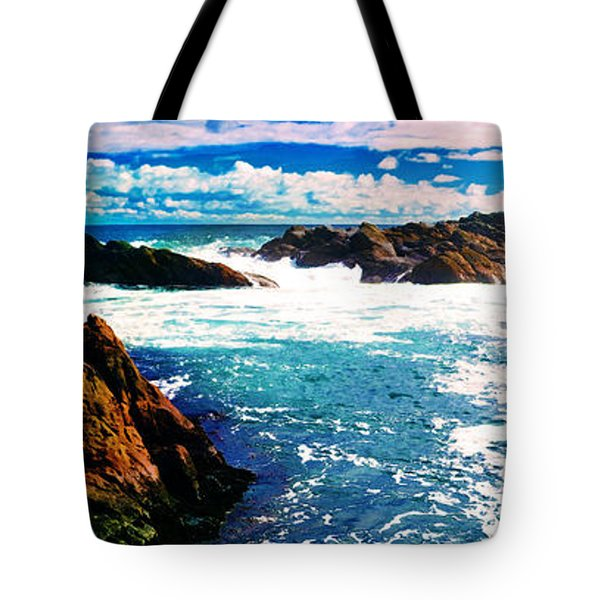 Ebbing Tide Tote Bag by Phill Petrovic
