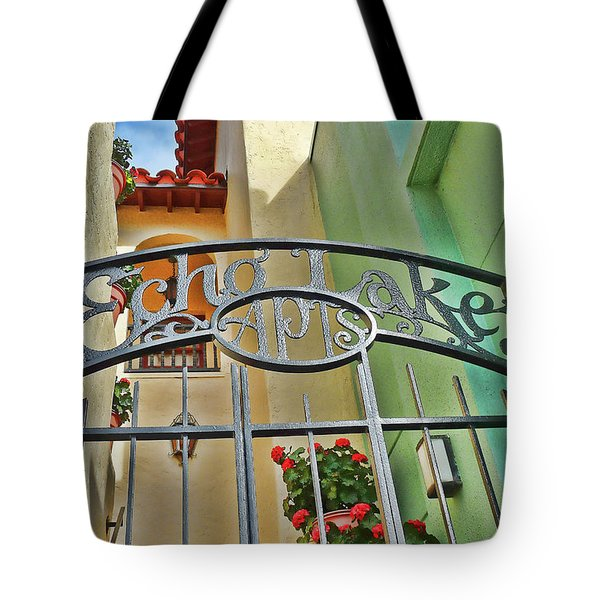 Echo Lake Gate Tote Bag