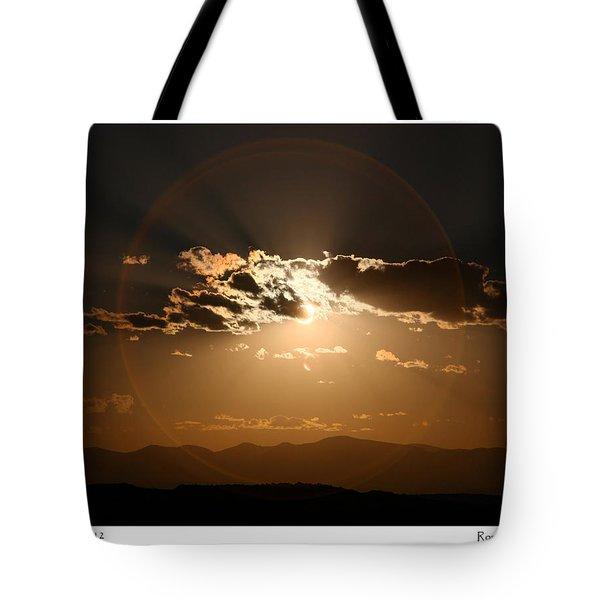 Eclipse 2012 Tote Bag