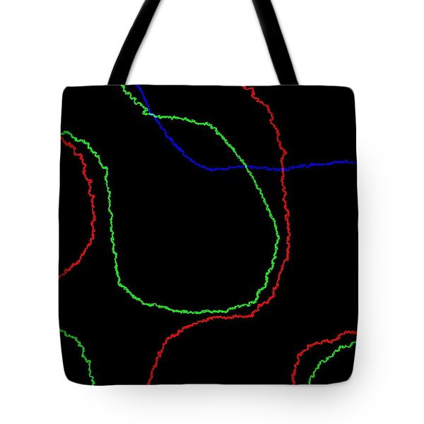 Tote Bag featuring the digital art Edge by Jeff Iverson