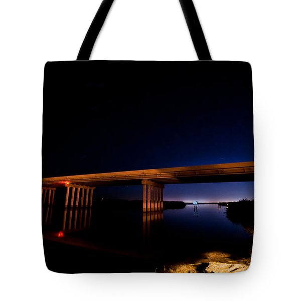 Edge Of Morning Tote Bag by Christopher Holmes