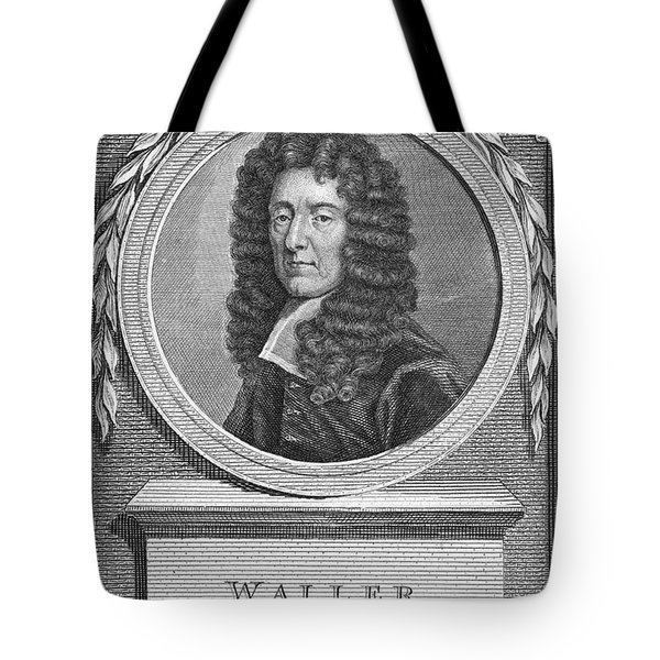 Edmund Waller (1606-1687) Tote Bag by Granger
