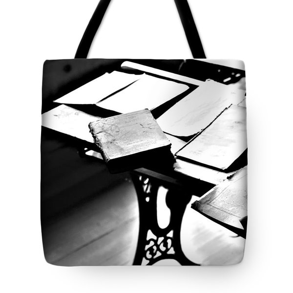 Education Station Tote Bag by Empty Wall