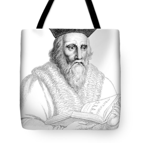 Edward Kelley, English Alchemist Tote Bag by Science Source