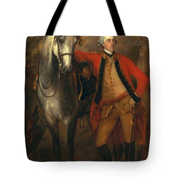 Edward Viscout Ligonier Tote Bag by Thomas Gainsborough