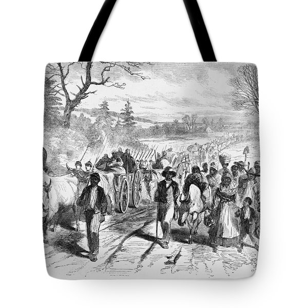 Effects Of Emancipation Proclamation Tote Bag by Photo Researchers