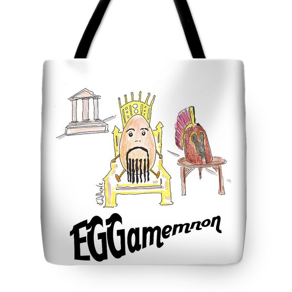 Eggamemnon Tote Bag