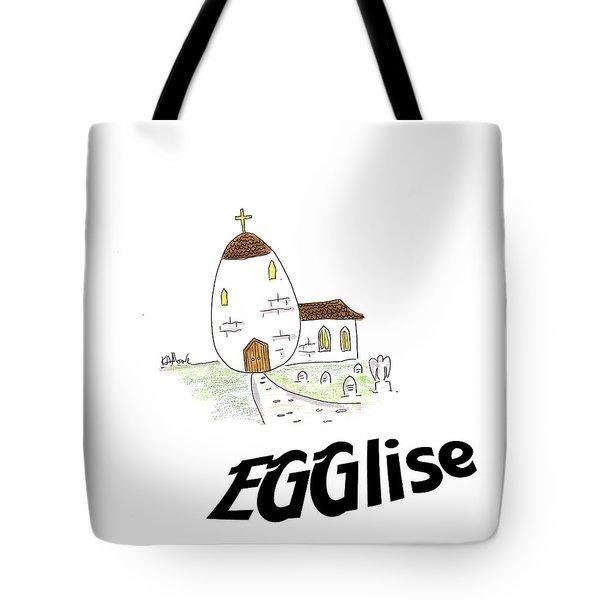 Egglise Tote Bag