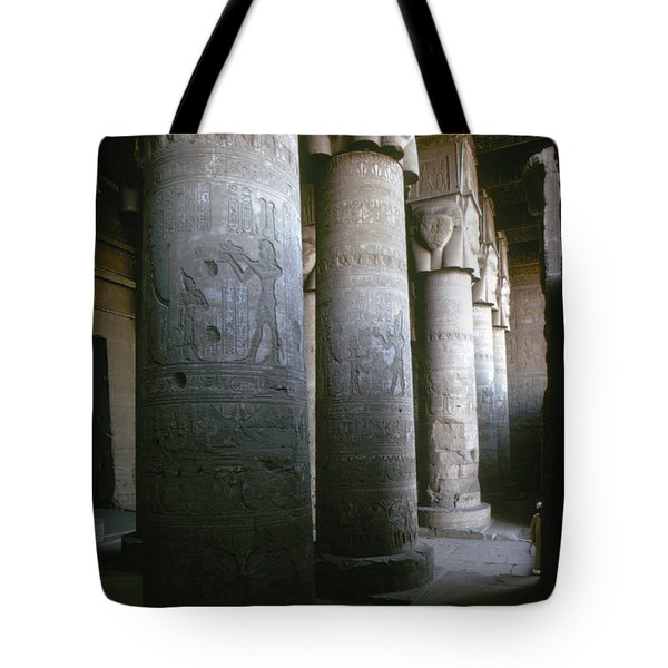 Egypt: Temple Of Hathor Tote Bag by Granger