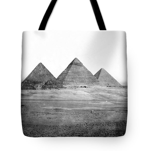 Egyptian Pyramids - C 1901 Tote Bag by International  Images