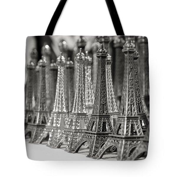 Eiffel Tower Miniature Tote Bag