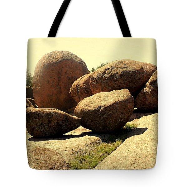 Elaphant Rocks 4 Tote Bag by Marty Koch