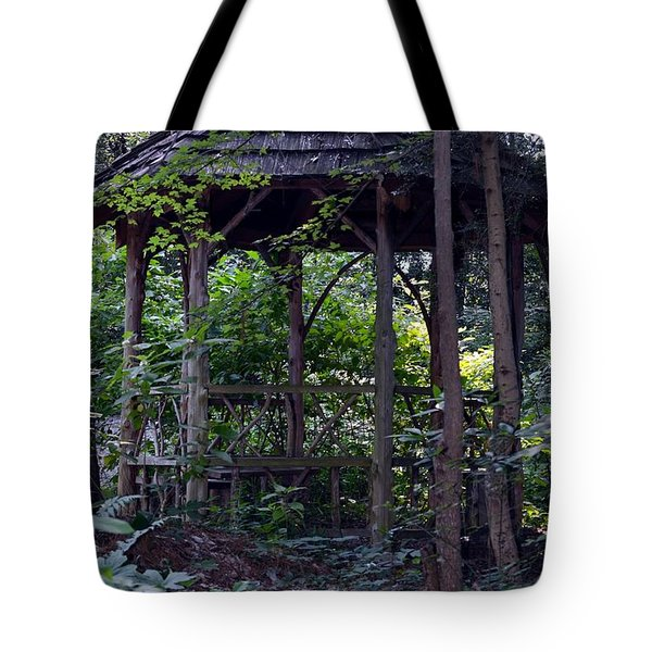 Elapsed Time Tote Bag by Maria Urso