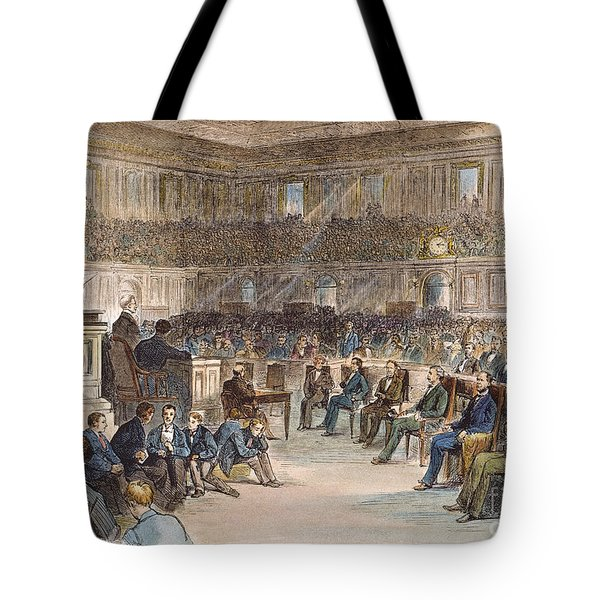 Electoral Commission, 1877 Tote Bag by Granger
