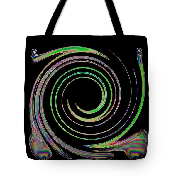 Tote Bag featuring the photograph Electric Cutlery by Steve Purnell