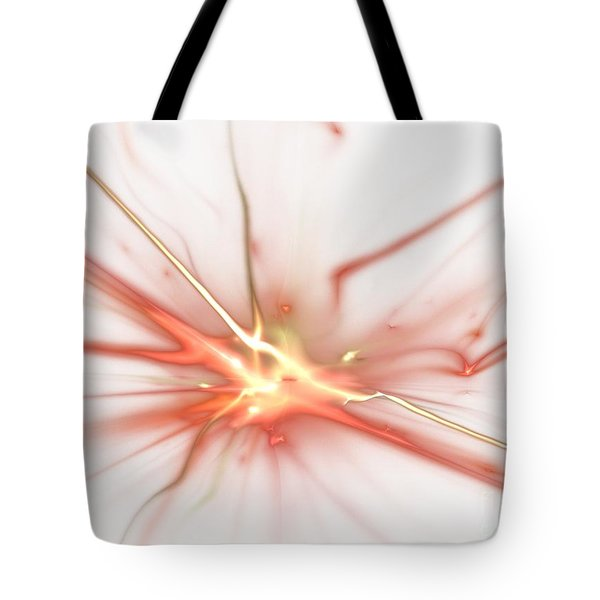 Electric Tote Bag by Kim Sy Ok