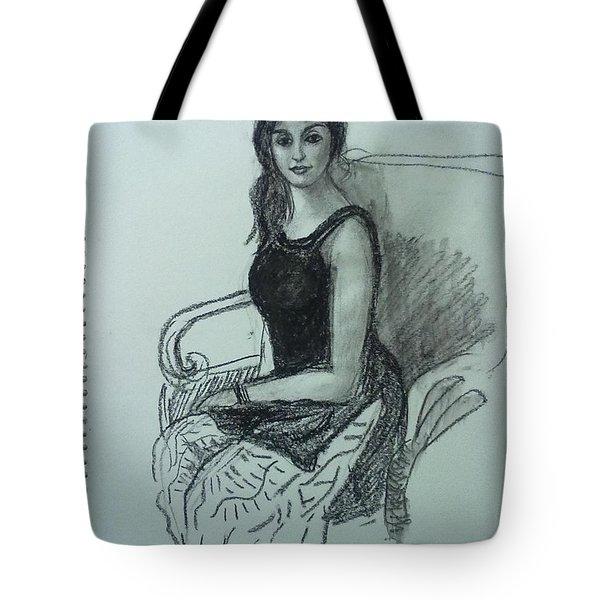 Elegant Woman Tote Bag