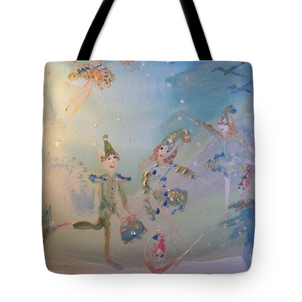 Elf The Musical Tote Bag by Judith Desrosiers