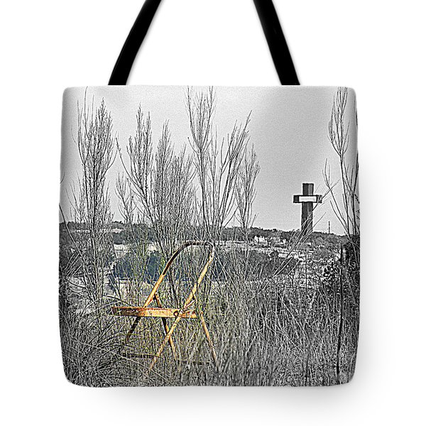 Elijahs Chair Tote Bag by Joe Jake Pratt