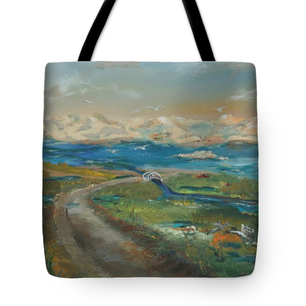 Elkhorn Slough Tote Bag by Gail Daley