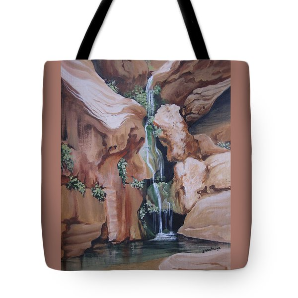 Elves Chasm Tote Bag by Barbara Prestridge