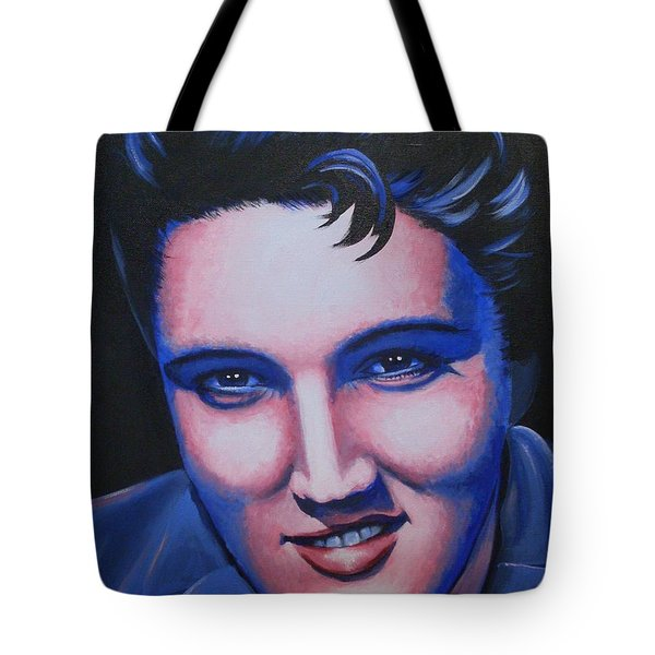 Elvis - The King Tote Bag