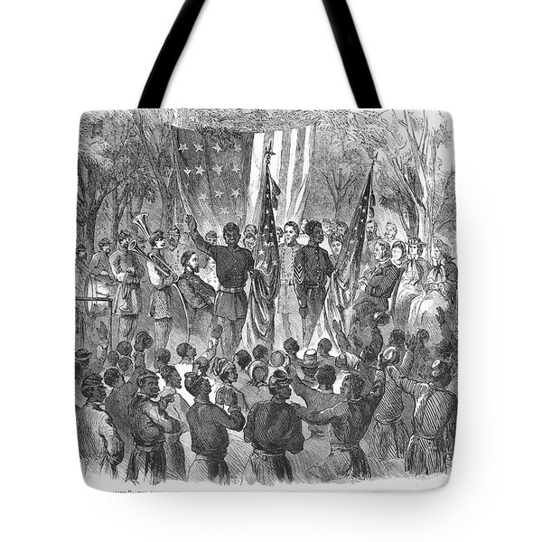Emancipation, 1863 Tote Bag by Granger