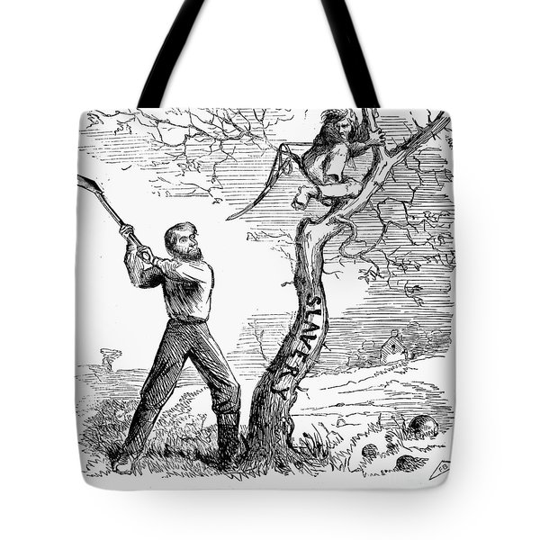 Emancipation Cartoon, 1862 Tote Bag by Granger