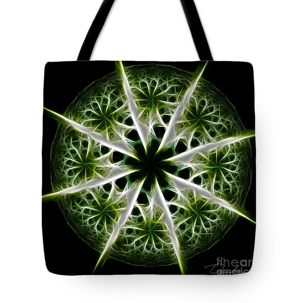 Emerald Tales Tote Bag by Danuta Bennett