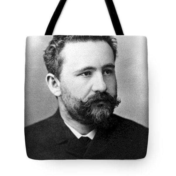 Emil Kraepelin, German Psychiatrist Tote Bag by Science Source