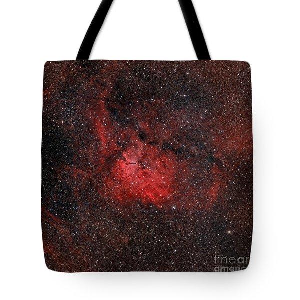 Emission Nebula Ngc 6820 Tote Bag by Rolf Geissinger