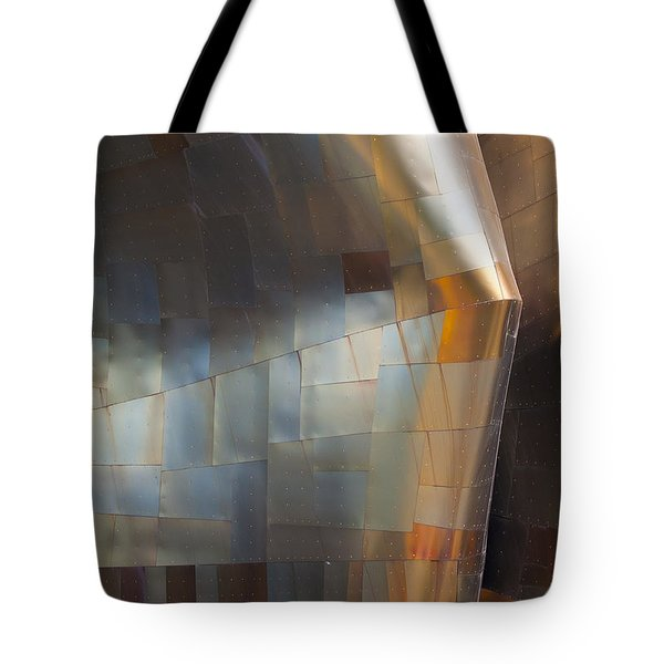 Emp Abstract Fold Tote Bag by Chris Dutton
