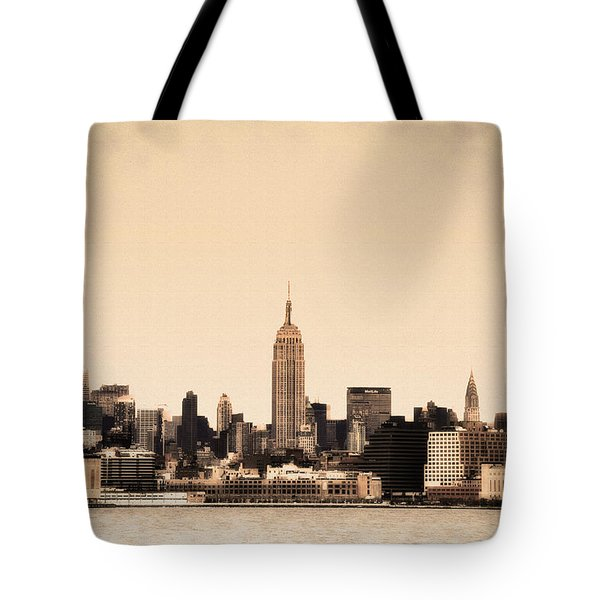 Empire State Building Tote Bag by Bill Cannon
