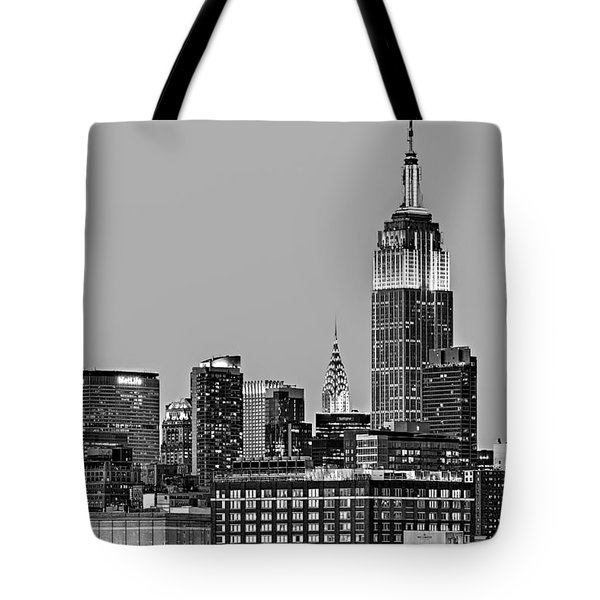 Empire State Bw Tote Bag