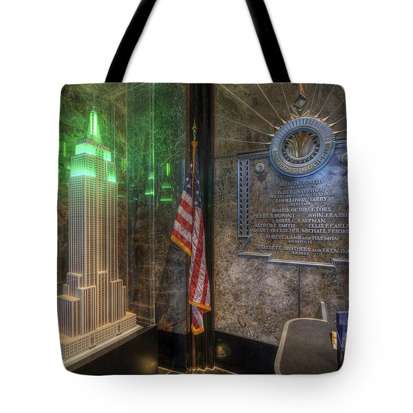Empire State Model Tote Bag by Yhun Suarez