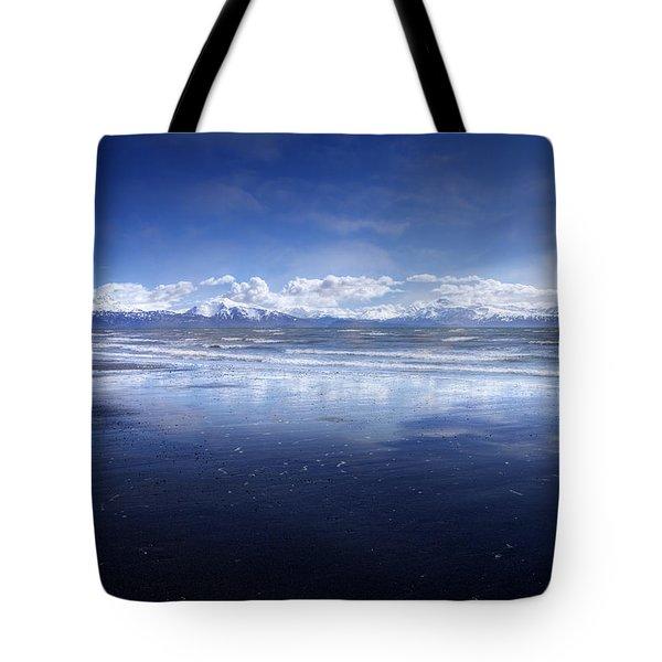Empty Beach Tote Bag by Michele Cornelius