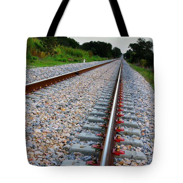 Empty Railway Tote Bag by Carlos Caetano