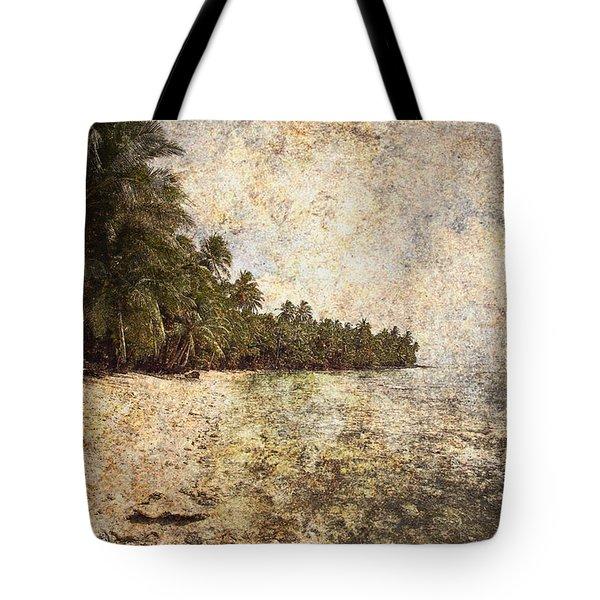 Empty Tropical Beach 2 Tote Bag by Skip Nall