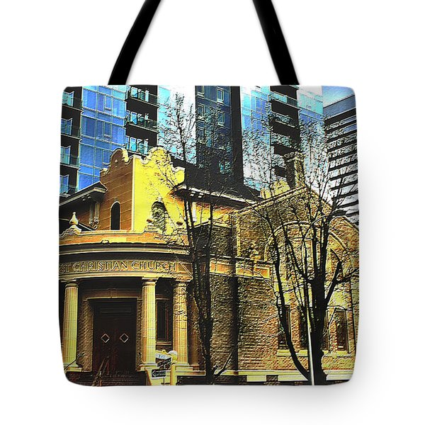 Encroached Tote Bag