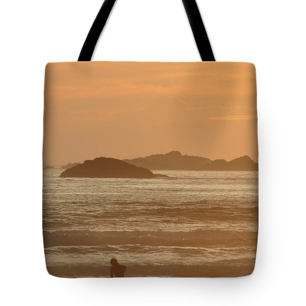 End Of Day Tote Bag by Ramona Johnston