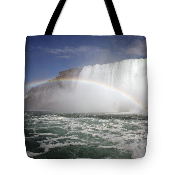 End Of The Rainbow Tote Bag by Amanda Barcon