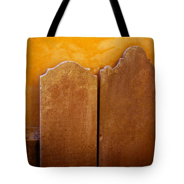 End Of The Road Tote Bag by Jean Haynes
