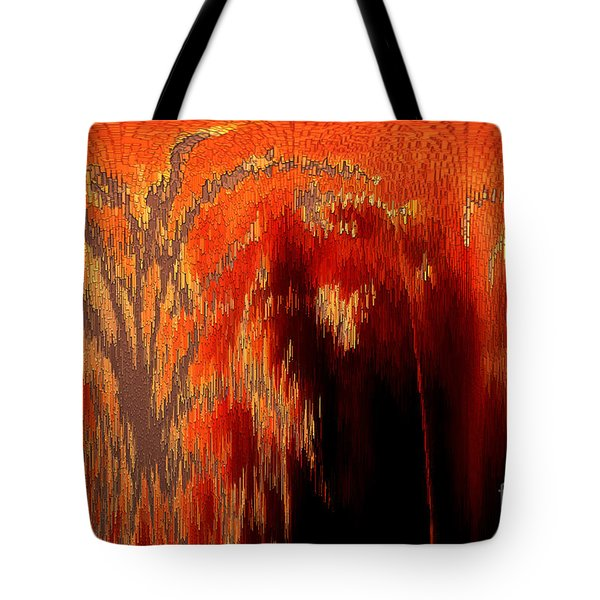 Endless Pit Tote Bag by Donna Brown