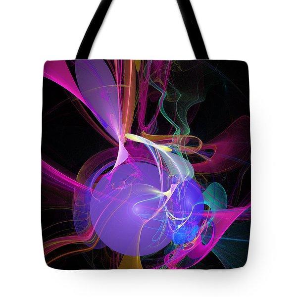 Energetic Orb Tote Bag