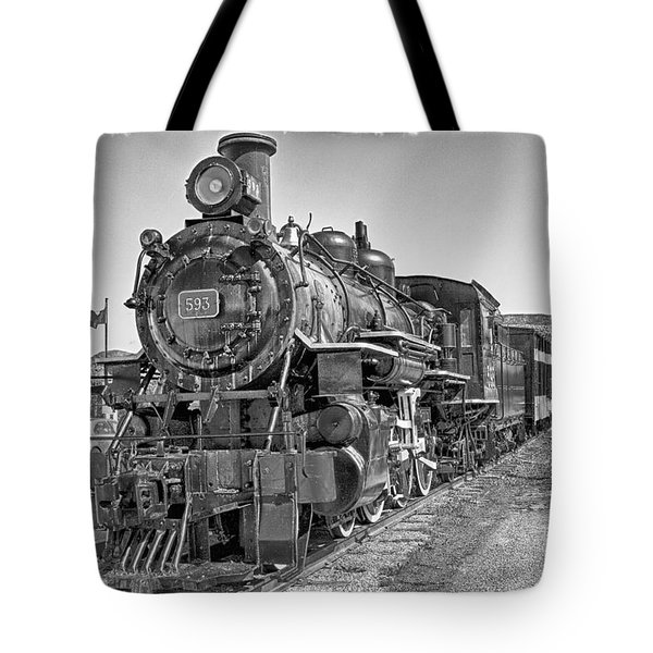 Engine 593 Tote Bag by Eunice Gibb